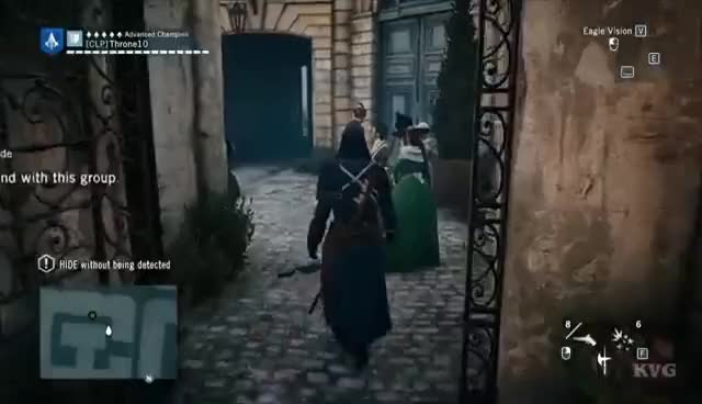 Assassin S Creed Unity Training Environmental Blending
