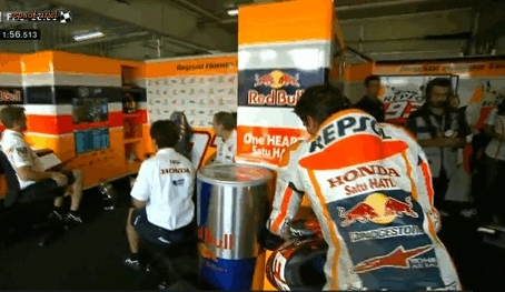 I made a Brno thing, I made a Marc thing, I made a thing, Marc Marquez, that little wince as he sat down :/, repsol-ariel GIFs