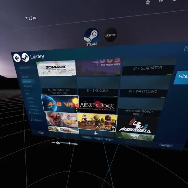 Steam is ready to play all your games in VR  Desktop Game