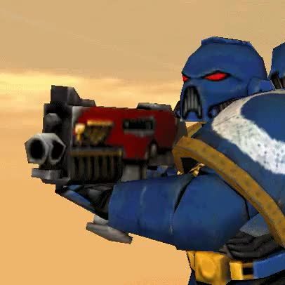 Watch and share Space Marine Shoot By Shadowthehedgehog GIFs on Gfycat