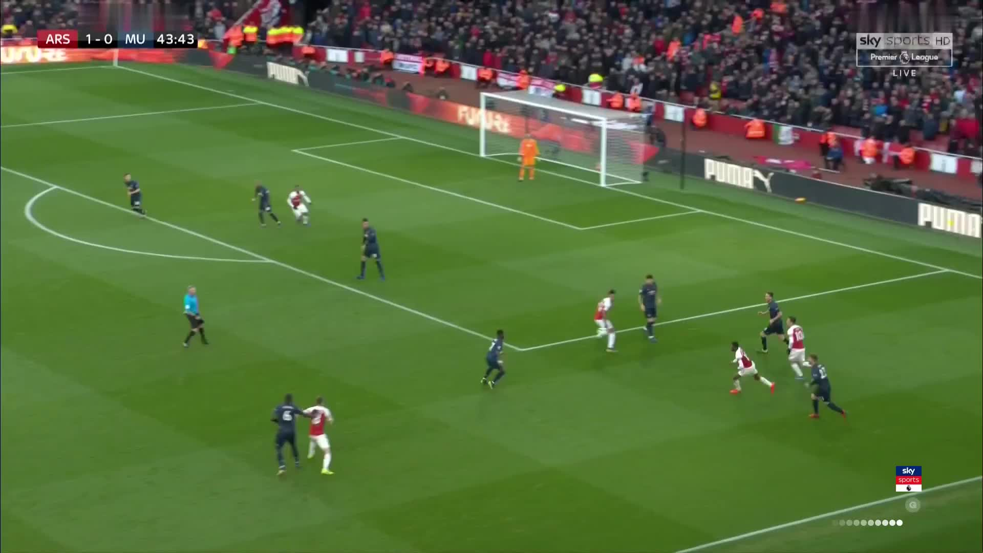 United Build Up Play V Arsenal GIF By Colin