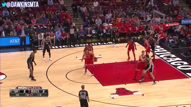 Watch Lauri Markkanen Full Highlights 2017.10.21 vs Spurs - 13 Pts, 12 Rebs. GIF on Gfycat. Discover more Highlights, basketball, dawk, dawkins, dawkinsmta, ins, nba, videos GIFs on Gfycat