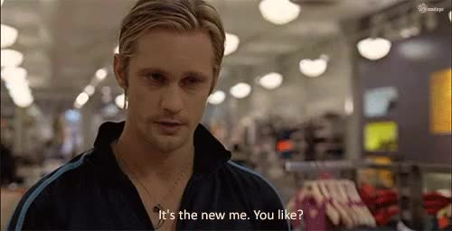 Watch never change GIF on Gfycat. Discover more Alexander Skarsgård, Eric, Eric Northman, S2E2, S4E2, parallels GIFs on Gfycat