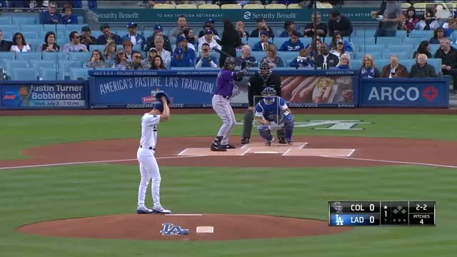 Watch and share Los Angeles Dodgers GIFs and Colorado Rockies GIFs by yyhislit on Gfycat