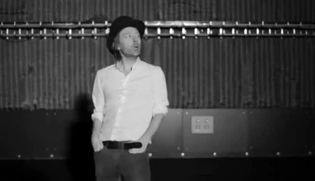 Yorke, Radiohead lotusflower GIFs