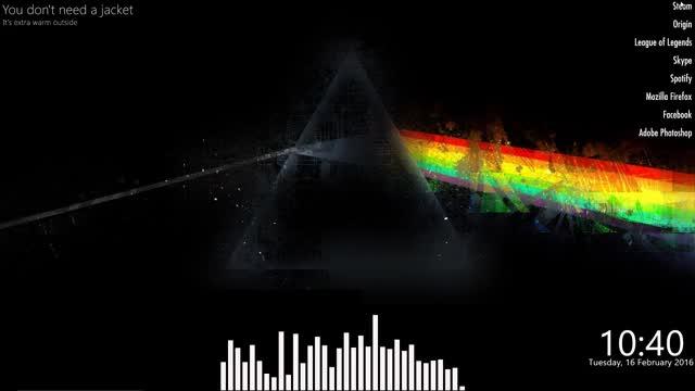 Watch Refraction Setup - Rainmeter GIF by @hamzterz on Gfycat. Discover more Prism, Refraction, rainmeter GIFs on Gfycat