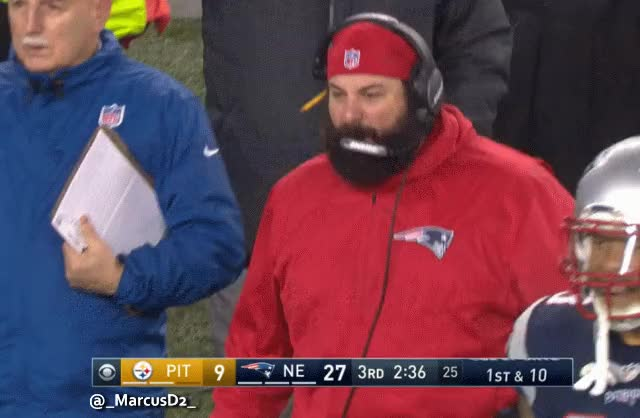Watch and share Matt Patricia Reaction GIFs by MarcusD on Gfycat