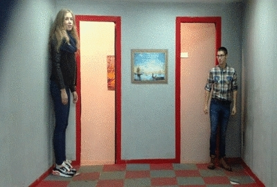 Perspective is a crazy thing (reddit) GIFs