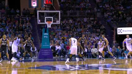 Watch and share Jeremy Lin — Charlotte Hornets GIFs by Off-Hand on Gfycat