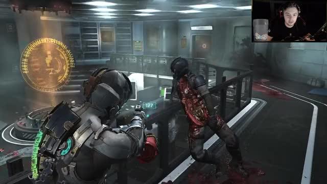 Dead Space 2 - AlienPls ElaPls | add #charity to bits @Elajjaz