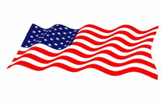 Watch and share USA Flags Waving On White Background. GIFs on Gfycat