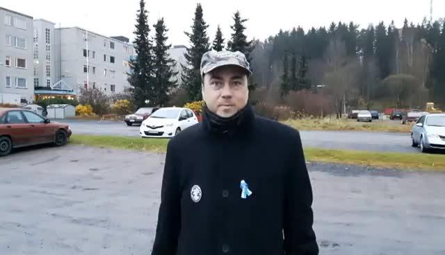 Laiton Suomi Ensin mielenosoitus - Forssa GIFs