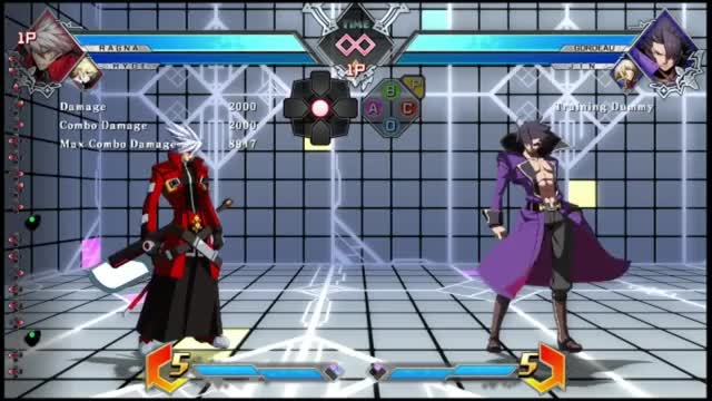 Watch and share BBTag: Ragna/Hyde Combo GIFs by snuffychris605 on Gfycat
