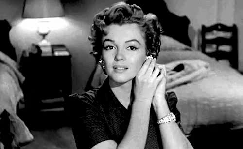 Watch and share Marilyn Monroe GIFs and Old Fashioned GIFs on Gfycat