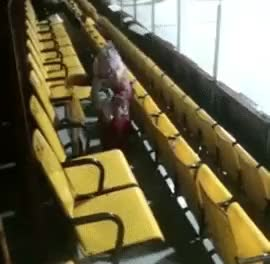 Watch These chairs will never give up, NEVER SURRENDER! (reddit) GIF on Gfycat. Discover more IdiotsFightingThings, idiotsfightingthings GIFs on Gfycat