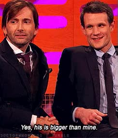 Watch and share David Tennant GIFs and Matt Smith GIFs on Gfycat