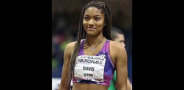 SuperAthleteGifs, Tara Davis at the junior nationals. (reddit) GIFs