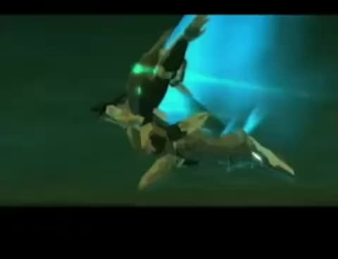 Watch and share Zone Of The Enders 2 The 2nd Runner Intro GIFs on Gfycat