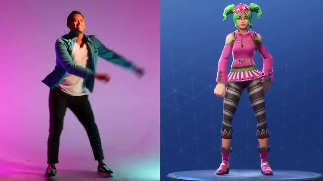 Watch Professional Dancers Try The Fortnite Dance Challenge GIF on Gfycat. Discover more BUZZFEED, BuzzFeedVideo, Dancers, challenge, dances, dancing, fortnite, funny, gamers GIFs on Gfycat