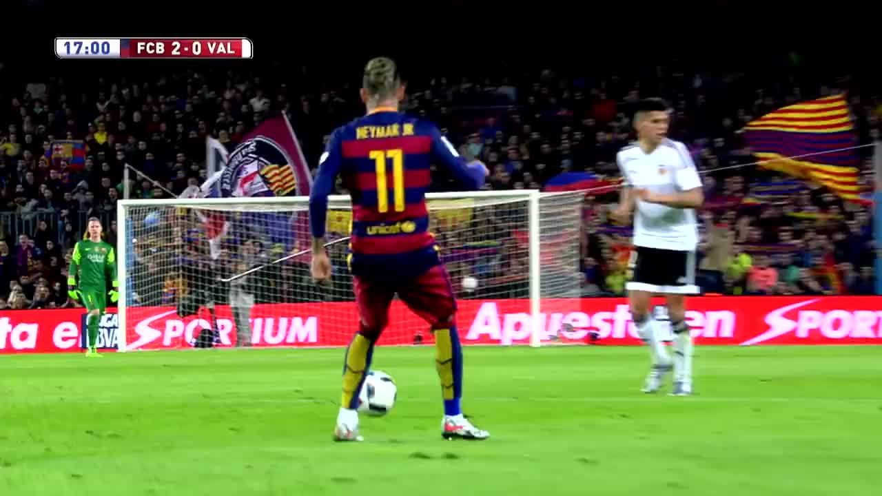 SuperAthleteGifs, superathletegifs, Neymar - skills vs Valencia - Streamable GIFs