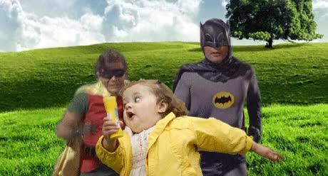 Watch and share Holy Batsuit Nipples Batman GIFs on Gfycat