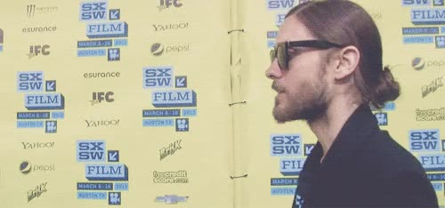 Watch Jared Leto GIF by Reaction GIFs (@sypher0115) on Gfycat. Discover more JaredLeto, celeb_gifs, celebrity GIFs on Gfycat