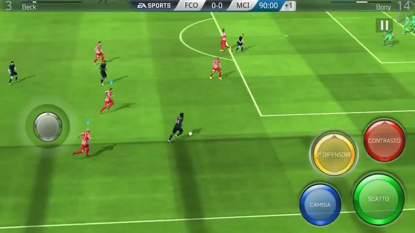fifa, football, glitch, Multiple Goalkeepers - FUT Mobile 2016 GIFs