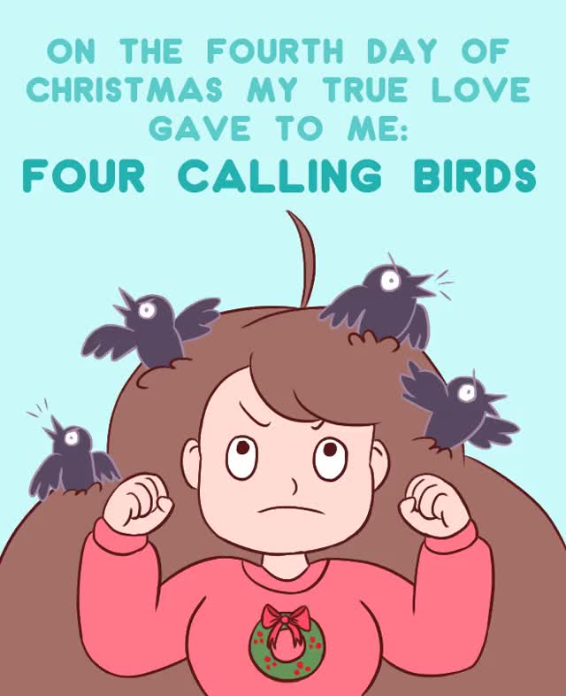 Watch and share Bee And Puppycat GIFs and Christmas GIFs by Cartoon Hangover on Gfycat