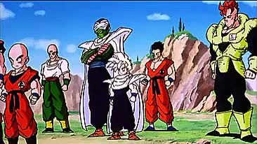 Watch Z-fighters GIF on Gfycat. Discover more Android 16, Cell Games, DBZ, DBZ4LIFE, Dragon Ball Z, Future Trunks, Gohan, Goku, Krillin, Piccolo, Tien, Trunks, Vegeta, Yamcha GIFs on Gfycat