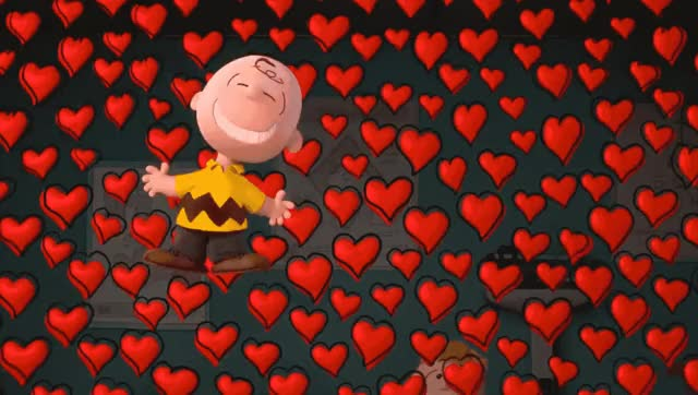 Watch this hearts GIF by GIF Queen (@ioanna) on Gfycat. Discover more I love you, brown, charlie, excited, happy, heart, hearts, i, love, movie, peanuts, smile, u, you GIFs on Gfycat