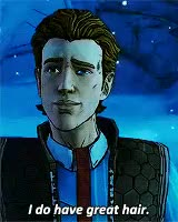 Watch frontier psychiatrist GIF on Gfycat. Discover more 1k, HE'S JUST LIKE, WHAT A MASSIVE DORK, borderlands, gamediting, gaming, gamingediit, i love you so much i cri, ishdajhdauhd so cute, mine, rhys, tales from the borderlands, telltale, tftbl, tftbl spoilers GIFs on Gfycat