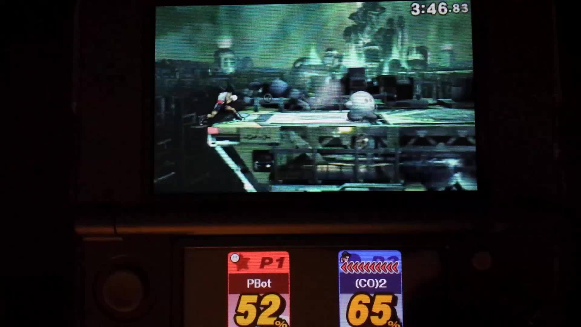 sm4sh, smashbros, What happened to Jolt Haymaker here? GIFs
