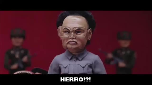 Watch and share Team America GIFs and Kim Jong Il GIFs by caveat1670 on Gfycat