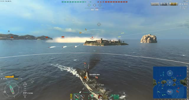 Watch World of Warships 2019.03.18 - 22.10.21.05.DVR GIF on Gfycat. Discover more worldofwarships GIFs on Gfycat