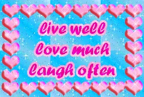 Watch and share Animated Gifs Of Live Love Laugh GIFs on Gfycat