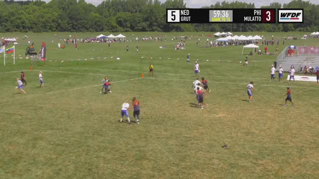 Watch WUCC 2018 - GRUT (NED) vs Mulatto Pilipinas (PHI) GIF on Gfycat. Discover more Sports, Ultimate Frisbee, World Flying Disc Federation GIFs on Gfycat