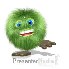 Watch and share Green Hairball Dancing PowerPoint Animation GIFs on Gfycat