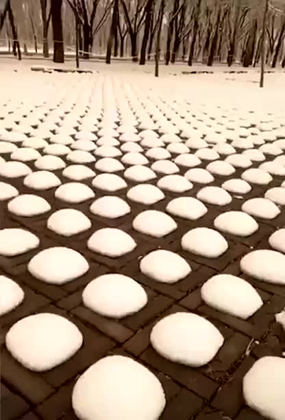 Watch and share Snow Melting On A Parking Lot In Beijing GIFs by tothetenthpower on Gfycat