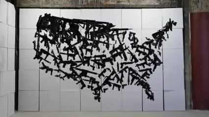 Watch Michael Murphy's Epic Anti-Gun Artwork for the DNC GIF on Gfycat. Discover more Anti Gun, Artwork, DNC, Gun Control, Michael Murphy, NRA GIFs on Gfycat
