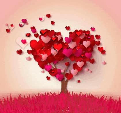 heart tree GIFs