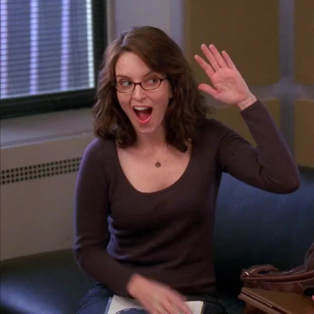 Watch and share High Five GIFs and Liz Lemon GIFs by MikeyMo on Gfycat