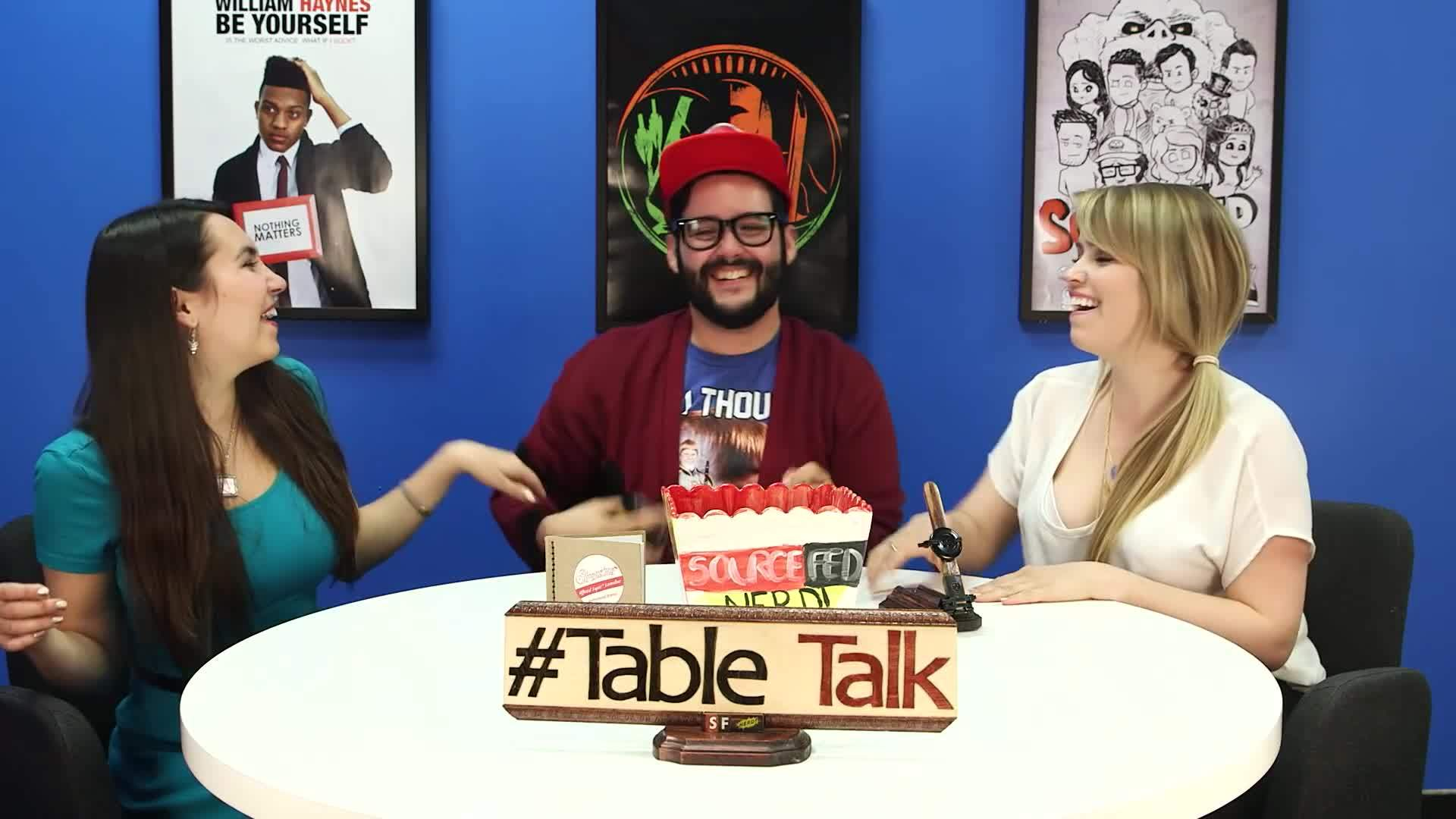 bears, flavors, leenewton, The Truth About Bears and Steve's Parents on #TableTalk! GIFs