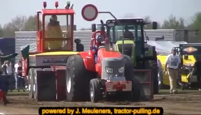 Watch and share Pulling GIFs and Tractor GIFs on Gfycat