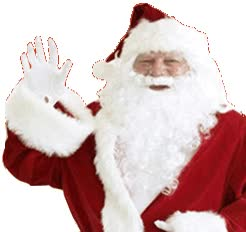 Watch and share Santa Sticker animated stickers on Gfycat