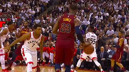 Watch LeBron James — Cleveland Cavaliers GIF by Off-Hand (@off-hand) on Gfycat. Discover more 050318 GIFs on Gfycat