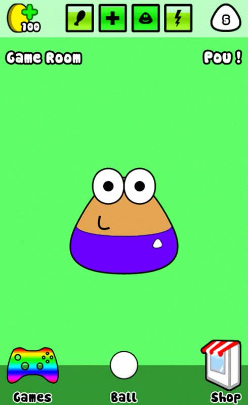 Watch and share Pou MOTION GIFs on Gfycat