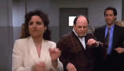 Watch and share Seinfeld GIFs by Reactions on Gfycat
