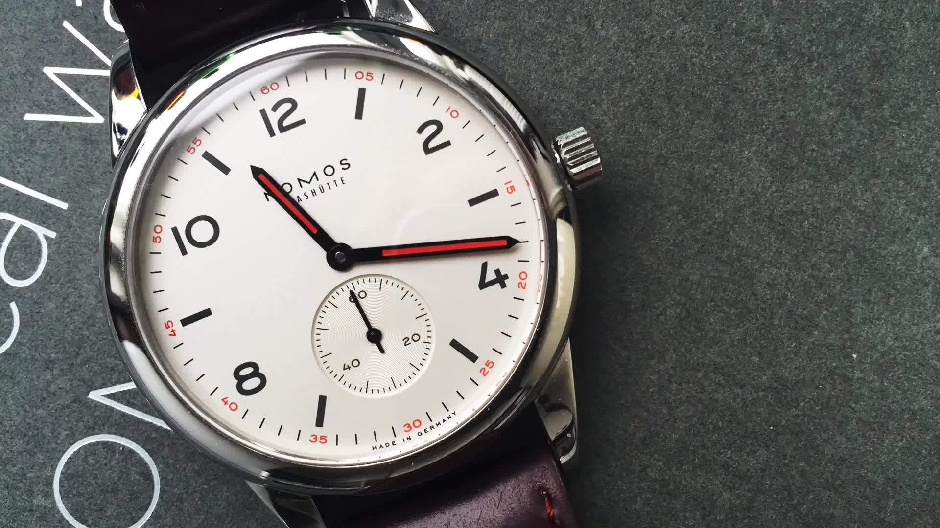 watches, [Nomos] Club timelapse - wanted to try it too (reddit) GIFs