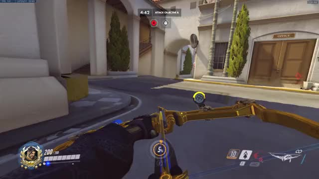 Watch Hollywood Hanzo GIF by @milanisboss on Gfycat. Discover more hanzo, highlight, overwatch, potg GIFs on Gfycat
