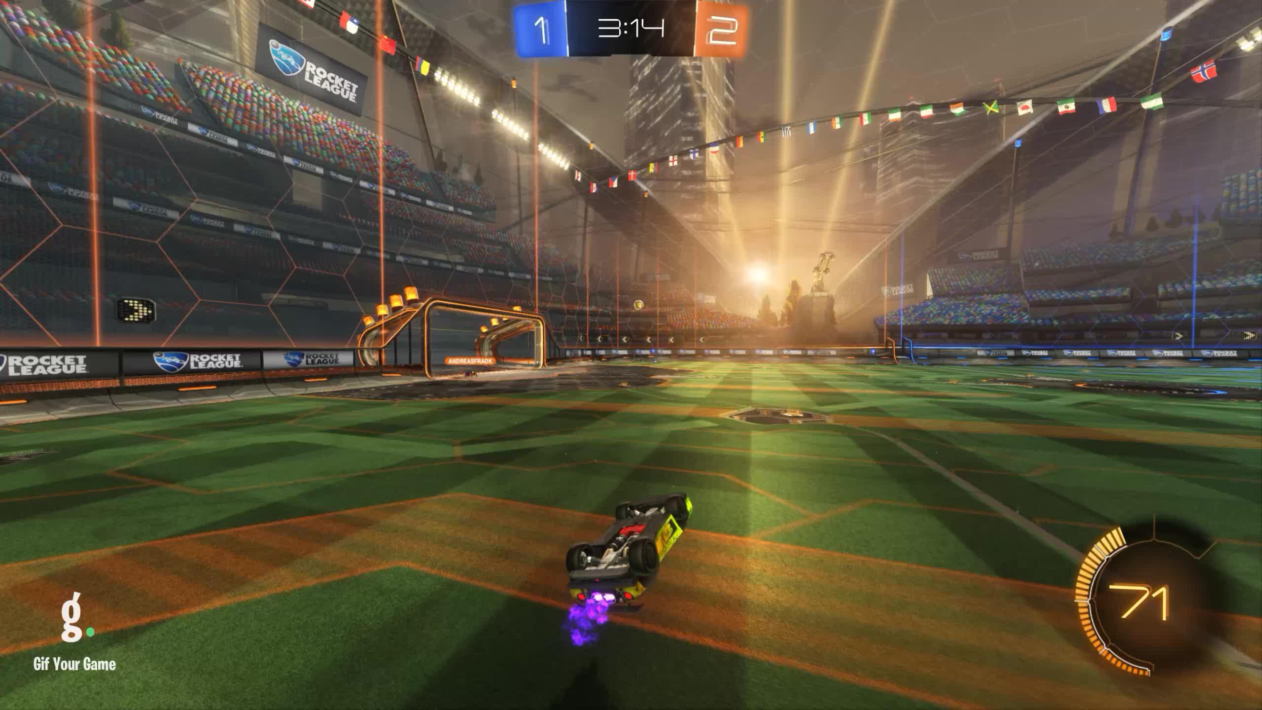Gif Your Game, GifYourGame, Rocket League, RocketLeague, |KX| xanwhite, Goal 4: klompie [NL] GIFs